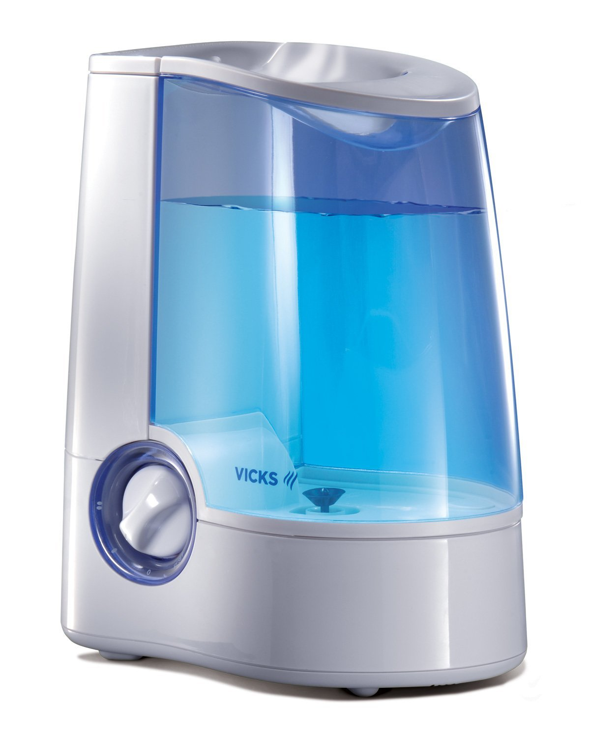 top humidifiers Vicks Warm Mist Humidifier with Auto Shut Off #158BB6