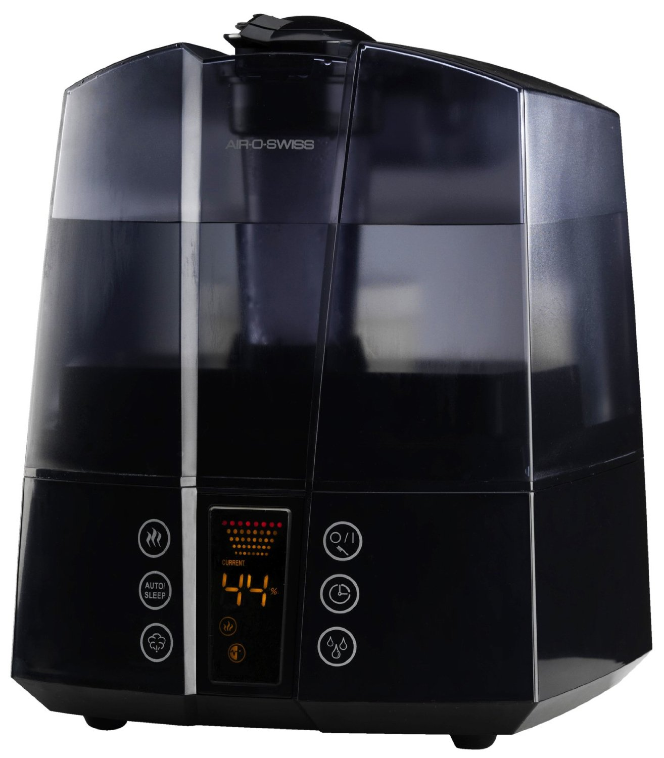 Air O Swiss AOS 7147 Ultrasonic Humidifier Warm and Cool Mist #70350F