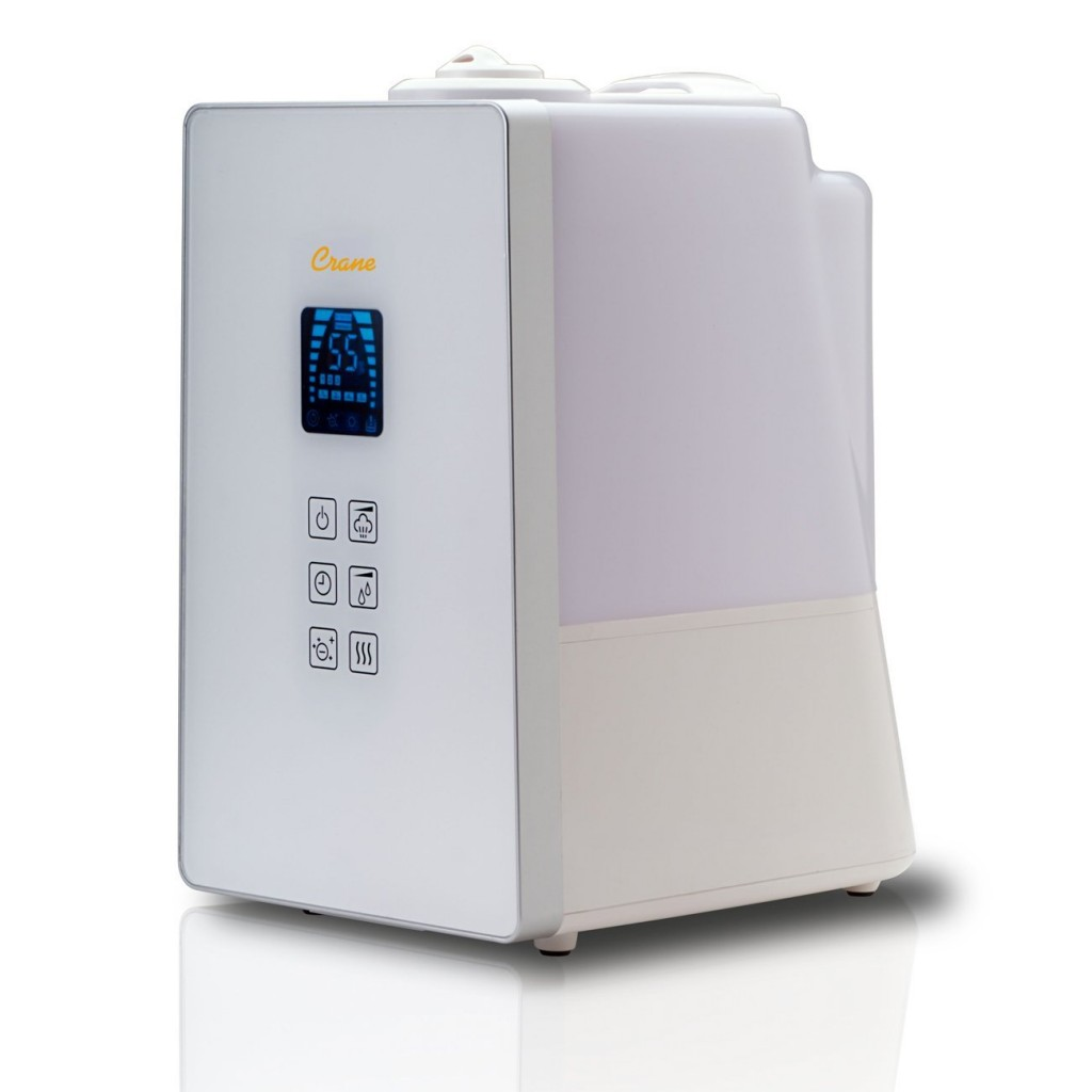 crane humidifier review - Crane Ee-8064 Crane Germ Defense Humidifier - Digital, White