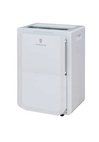 Friedrich D70BP 70 Pint Dehumidifier with built-in drain pump, front bucket and continuous drain