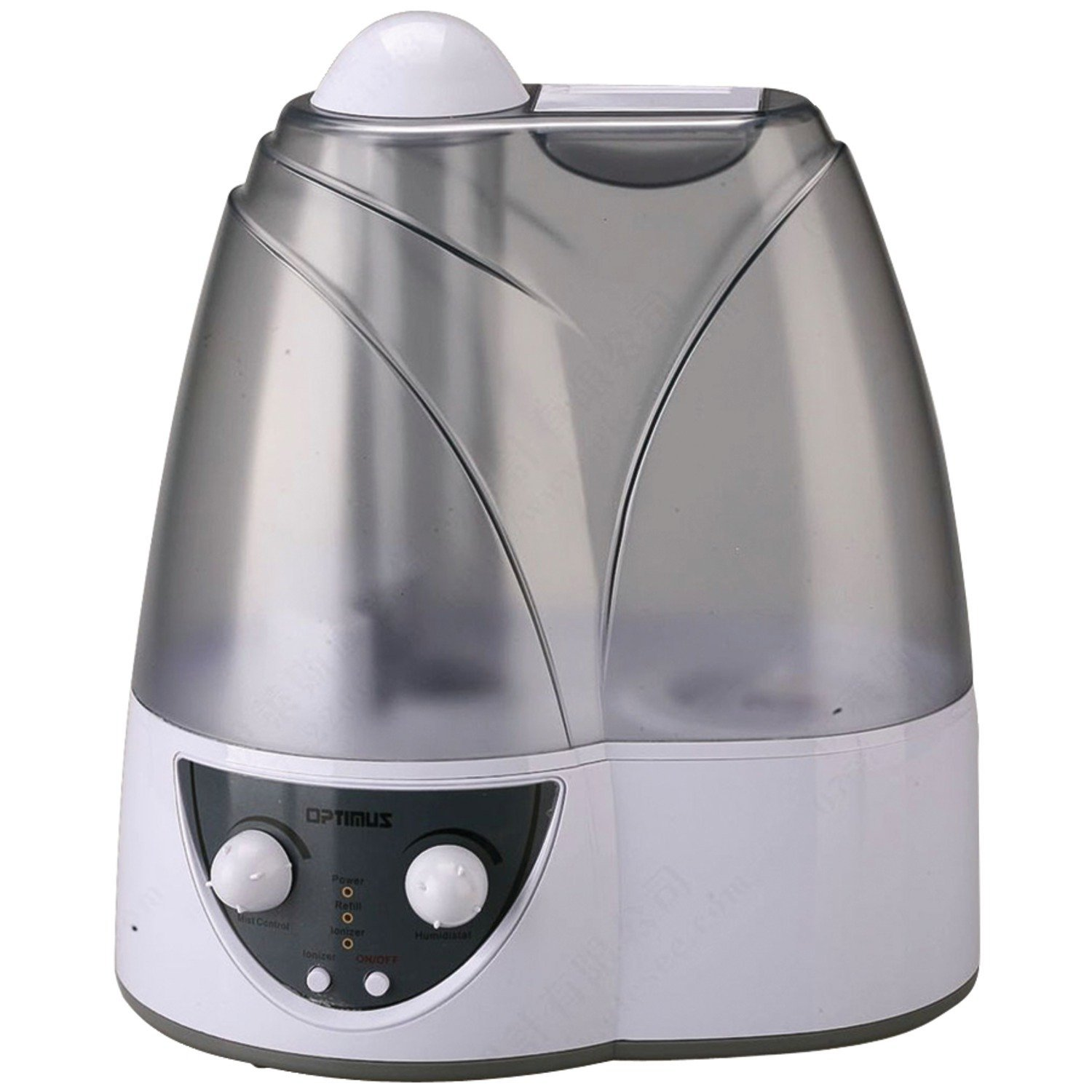 best quiet humidifier for bedroom Optimus U 31002 1.5 Gallon Cool  #4E5059