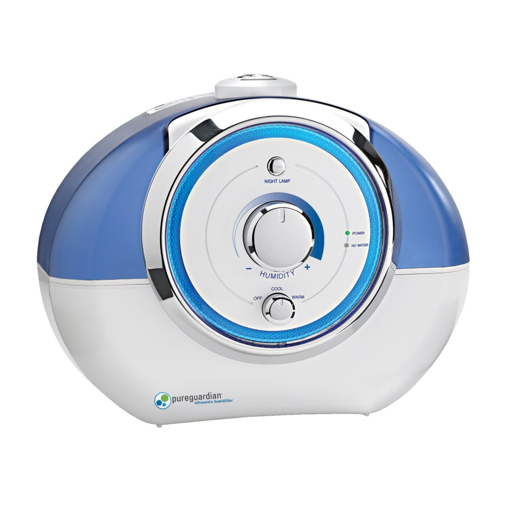 Pureguardian Ultrasonic Humidifier Reviews 2015 2016 #1489B7
