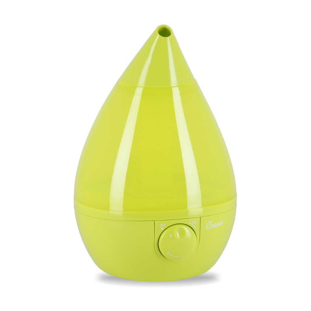 best baby humidifier 2014, Crane Drop Shape Ultrasonic Cool Mist Humidifier with 2.3 Gallon output per day - Green