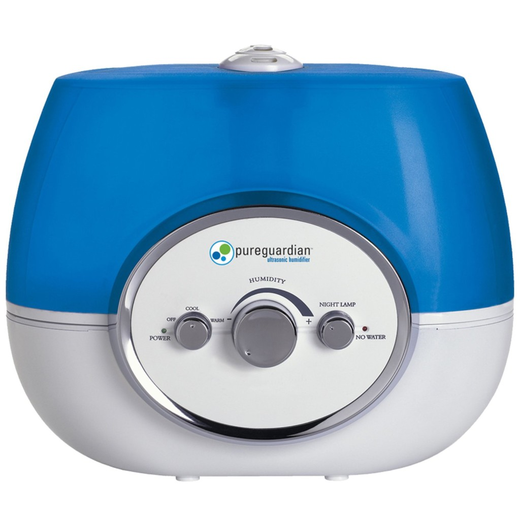 humidifier review PureGuardian H1510 100 Hour Warm or Cool Mist  #025F9B