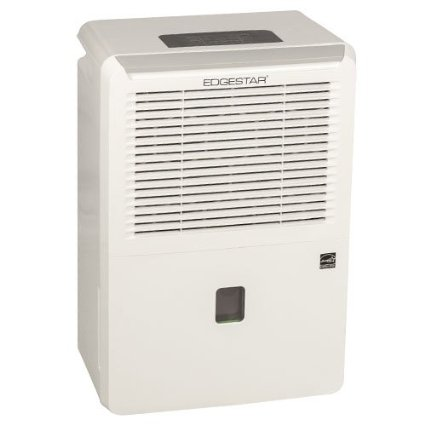 EdgeStar Energy Star 50 Pint Portable Dehumidifier - White