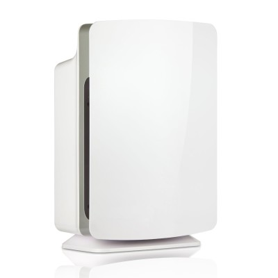 Alen Breathesmart Hepa Air Purifier With Smartsensor And Whiax Technology White Front Cover