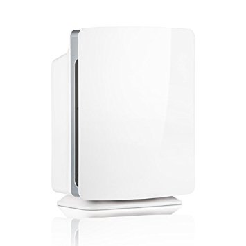 Alen BreatheSmart FIT50 HEPA Air Purifier to Remove Allergens & Dust, FIT for Any Room & Décor - White