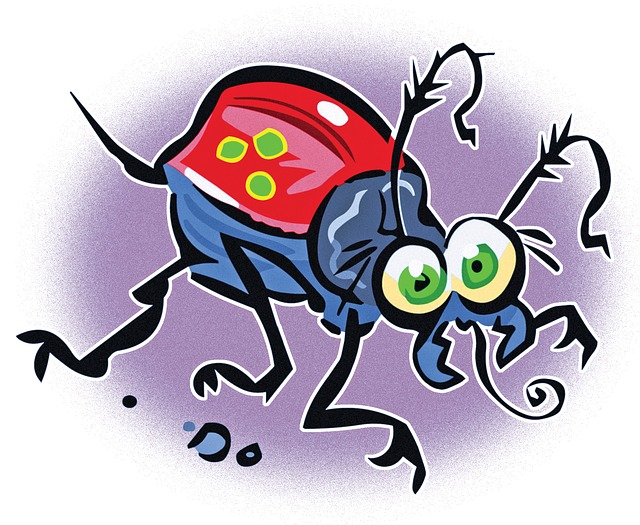 what dust mites look like